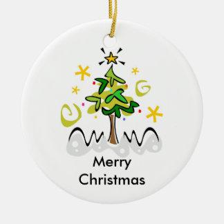 Navidad interconfesional y Jánuca Ornamento Para Arbol De Navidad