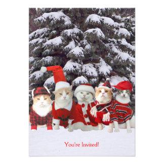 Navidad invitación de las vacaciones
