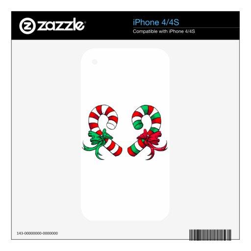 Navidad iPhone 4 Calcomanías
