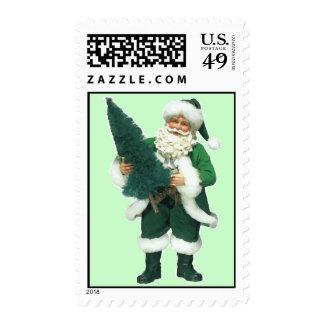 Navidad irlandés Papá Noel Timbres Postales