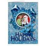 Navidad - Jack Russell - Eddie Felicitaciones