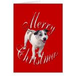 Navidad Jack Russell Terrier Felicitaciones