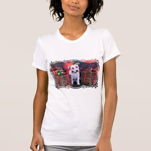Navidad - Jack Russell - Wiley Tshirts