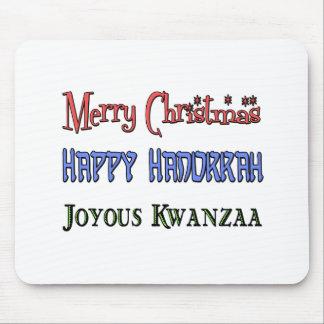 Navidad - Jánuca - Kwanzaa Alfombrilla De Ratones