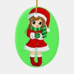 Navidad japonesa CAMBIABLE del animado del OPUS y