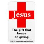 Navidad Jesús Imán Rectangular