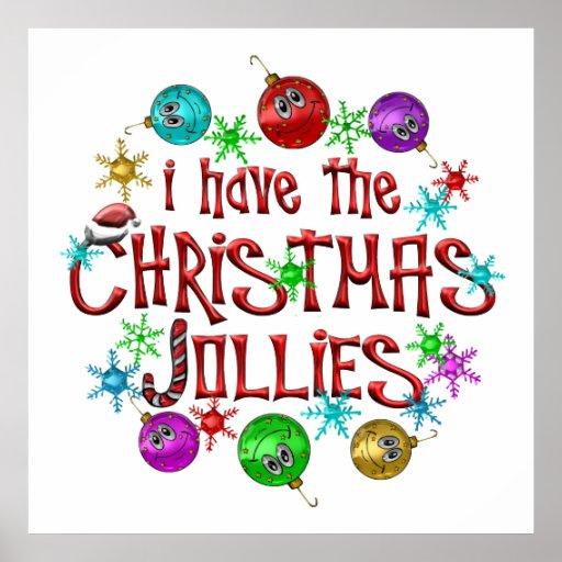 Navidad Jollies Póster