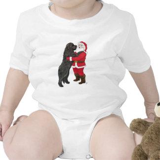 Navidad Jowly de Terranova que saluda Trajes De Bebé
