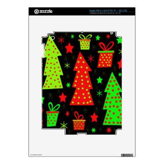 Navidad juguetona pegatina skin para iPad 3