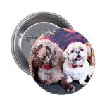 Navidad - LabraDoodle Bob - Shih Tzu Bentley Pins