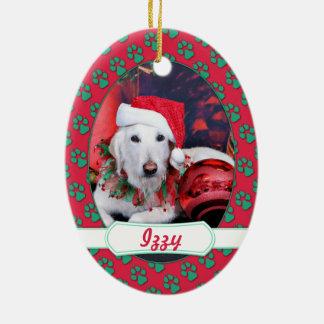 Navidad - LabraDoodle - Izzy Adorno De Navidad