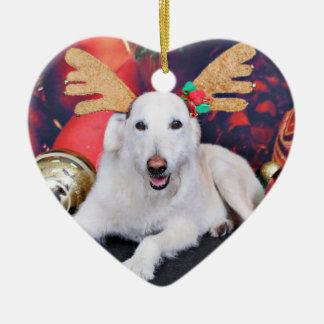 Navidad - LabraDoodle - Izzy Ornamento Para Arbol De Navidad