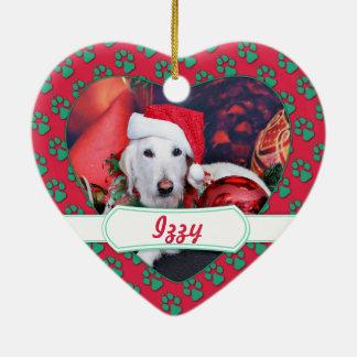 Navidad - LabraDoodle - Izzy Ornamentos De Navidad