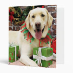Navidad - Labrador amarillo - Strider