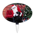 Navidad - Labrador - Gidget Decoración De Tarta
