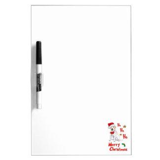 Navidad Labrador Pizarras Blancas