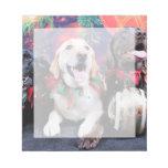 Navidad - Labrador - punta y moca del tipo Bloc De Papel
