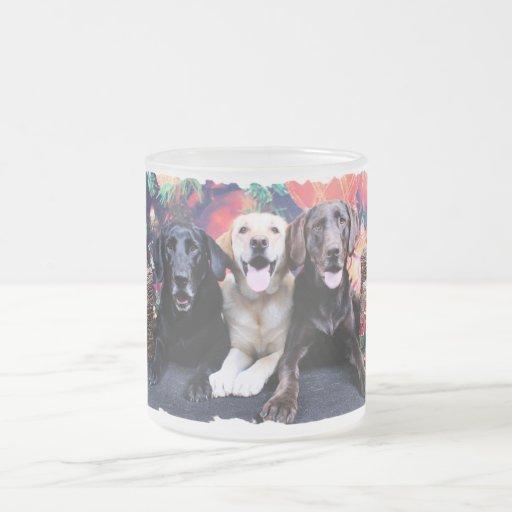 Navidad - Labrador - punta y moca del tipo Tazas De Café