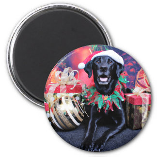 Navidad - Labrador - tonelero Iman