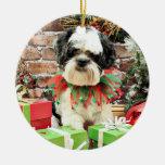 Navidad - Lasa Apso - Parker Adorno De Navidad