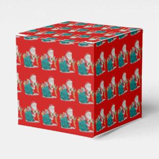 navidad lindo del padre con los regalos y los caja para regalos