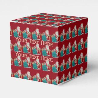 navidad lindo del padre con los regalos y los cajas para regalos de boda