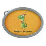 Navidad lindo T-rex Hebillas Cinturon
