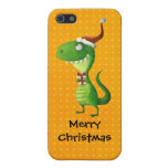 Navidad lindo T-rex iPhone 5 Funda