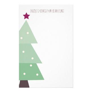 Navidad lindo y del país papeleria de diseño
