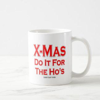 Navidad lo hace para Ho Taza Básica Blanca