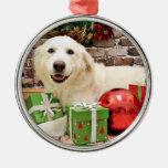 Navidad - los grandes Pirineos Labrador X - Ginny Ornamento De Reyes Magos