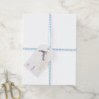 Navidad mágico etiquetas para regalos