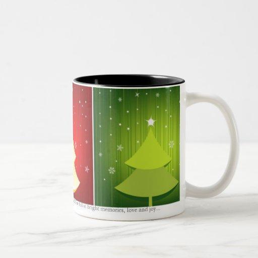 Navidad mágico taza de café