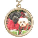 Navidad - maltés - Annie y YorkiePoo - Hannah Joyeria Personalizada