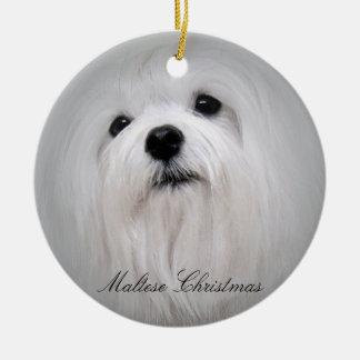 Navidad maltés ornamento de reyes magos