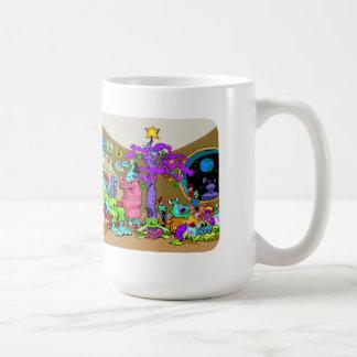 Navidad marciano taza