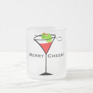 Navidad Martini Taza De Café