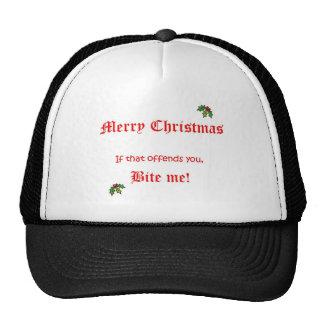 Navidad me muerde gorra