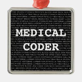 Navidad médico de la terminología del codificador  ornamento para arbol de navidad