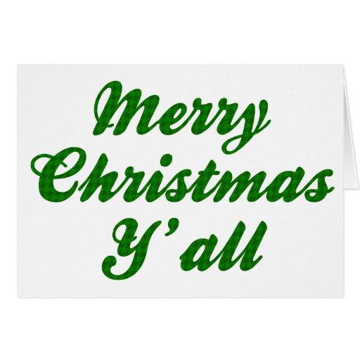 Navidad meridional que saluda Houndstooth Tarjeton