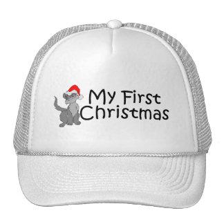 Navidad mi primer navidad (gatito) gorro