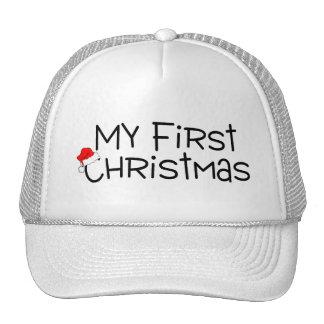 Navidad mi primer navidad (gorra de Santa)