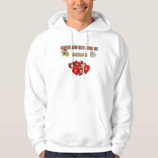 Navidad militar del marinero de la marina de jersey encapuchado