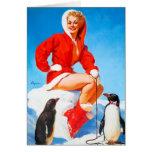¡Navidad modelo con los pingüinos! Felicitaciones