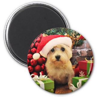 Navidad - mojón Terrier - Roxy Imán