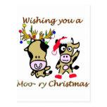 Navidad Moory Postal