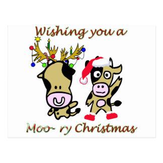 Navidad Moory Postales