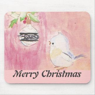 Navidad Mousepad de la niñez Alfombrillas De Raton