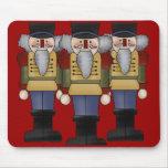 Navidad Mousepad del cascanueces Tapetes De Ratones
