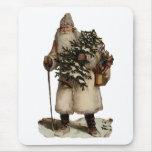 Navidad Mousepad del padre del vintage Alfombrilla De Ratones